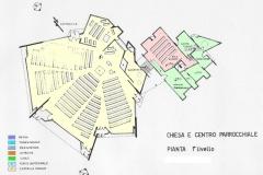 Pianta Nuova Chiesa Torella del Lombardi