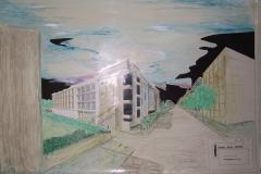 Concorso Prospettiva Palazzo per gli uffici  Provincia di  Foggia